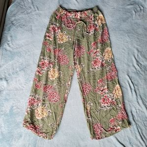 Angie Floral Plazzo Pants